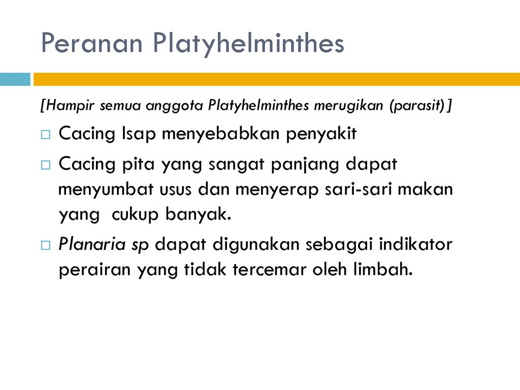 peranan negatif nemathelminthes)