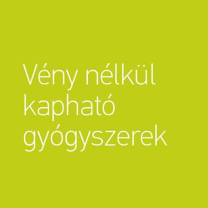 vény nélküli gyógyszer)