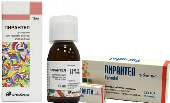 férgek kezelése széles spektrumú gyógyszerek