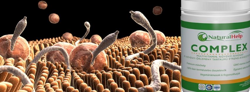 természetes paraziták elleni gyógyszer