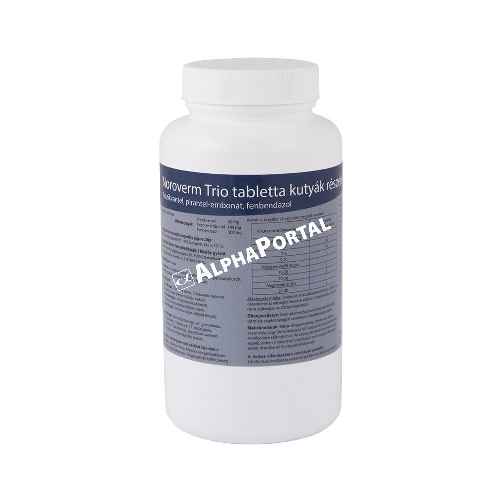 glocar tabletták a paraziták számára