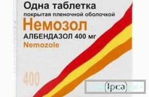 Férgek kezelése felnőtt tablettákban
