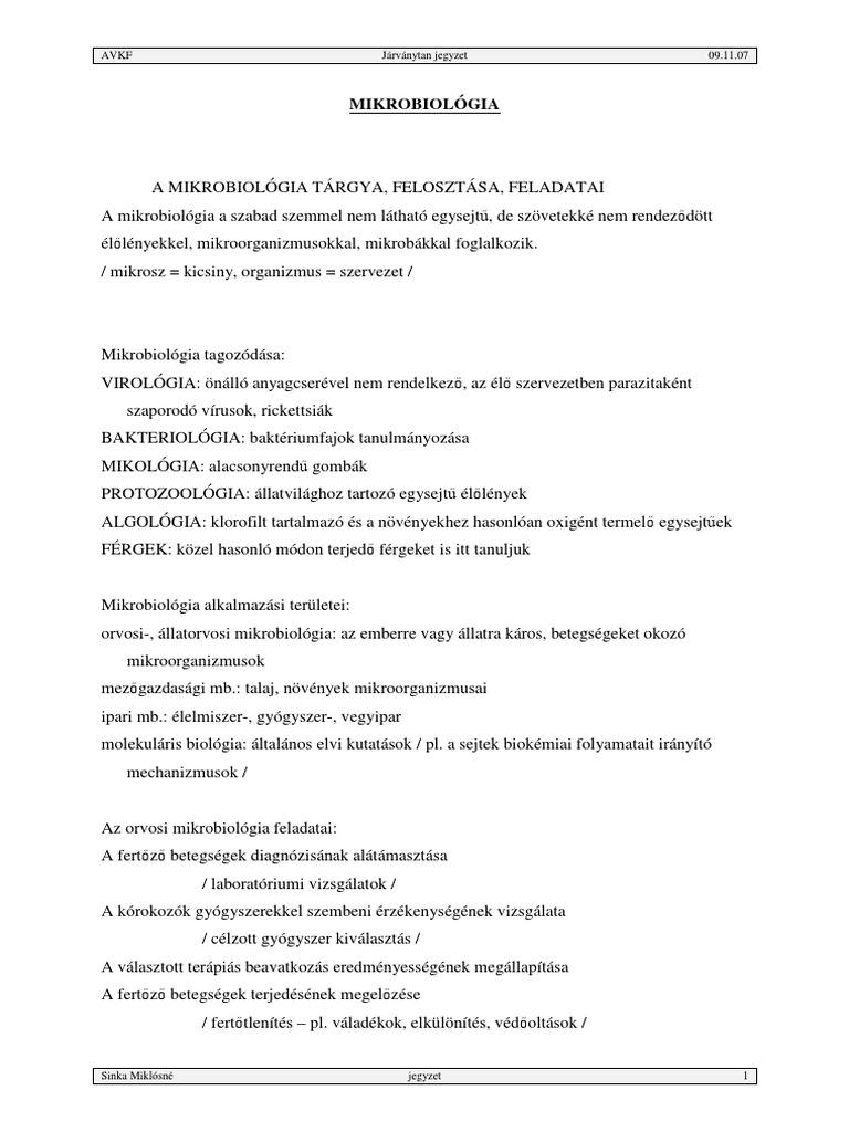 enterobiosis kutatási módszerek)