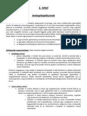 az emberek parazitaellenes gyógyszerek besorolása)