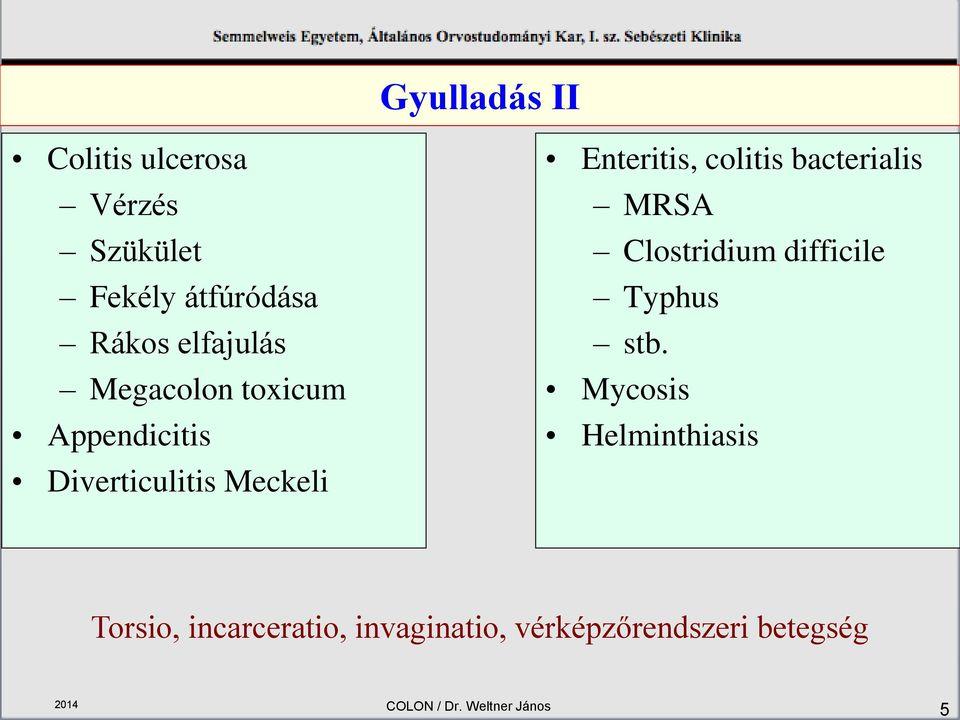 helminthiasis és bél szűrése)