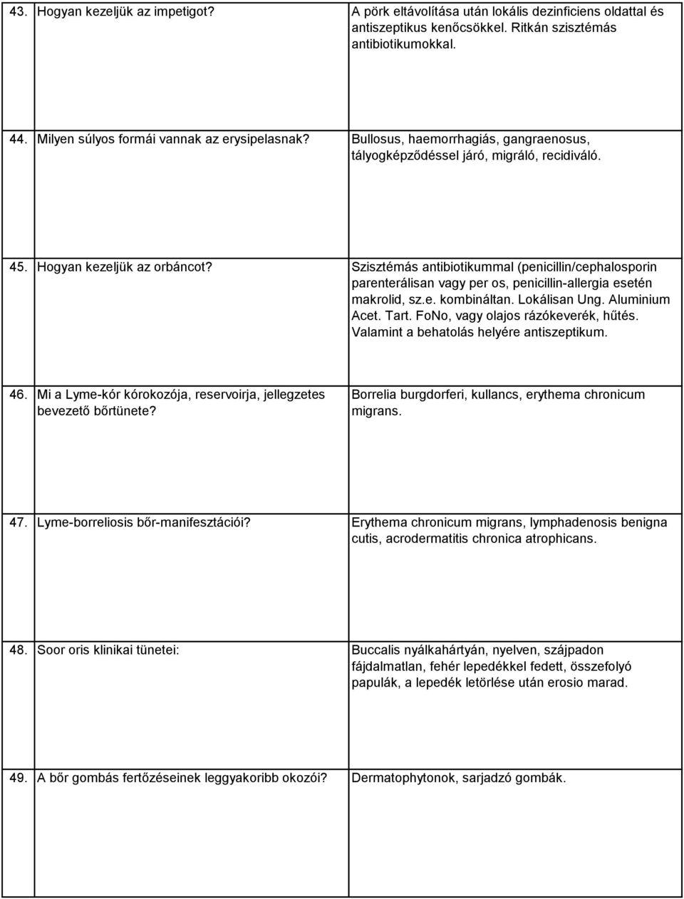 herxheimer reakció paraziták)