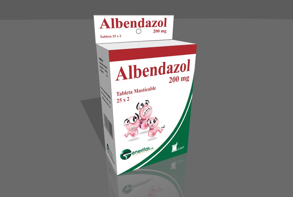 giardia y albendazol)