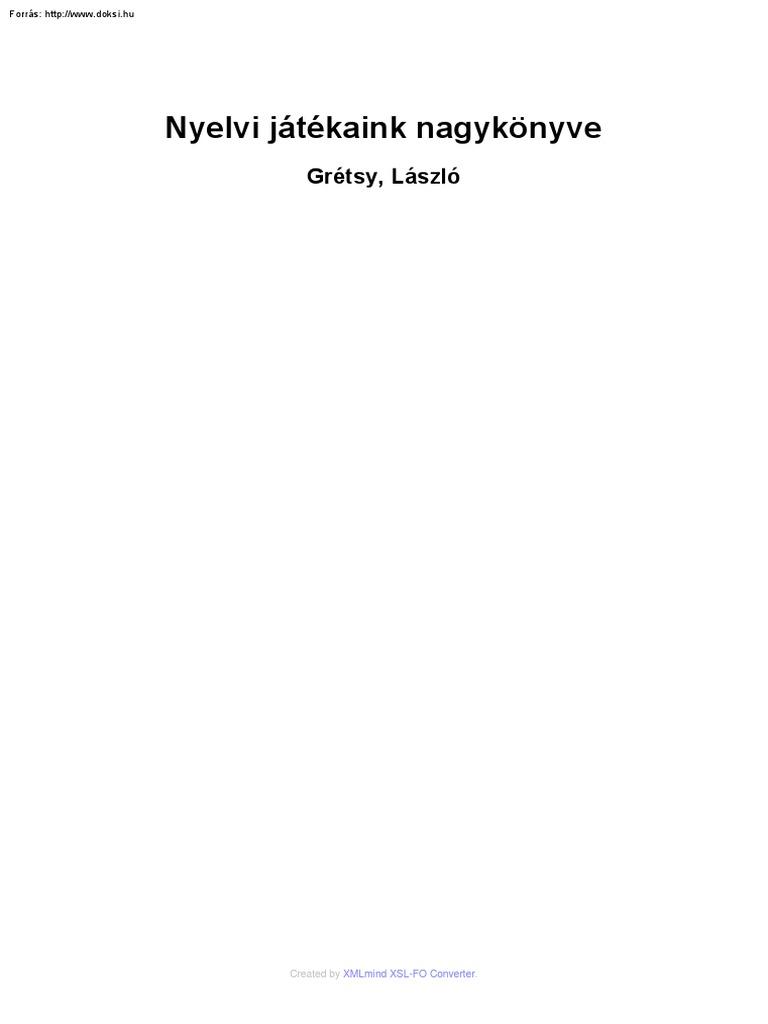 AZ IDŐ TÖRVÉNYE ALAPJAI - PDF Free Download