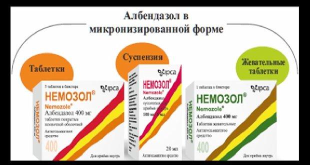 antihelmintikus szerek az egész család számára)