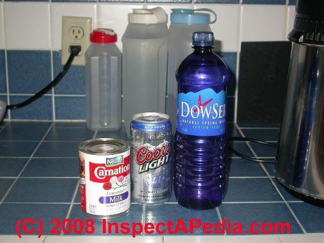 giardia disinfection bleach)