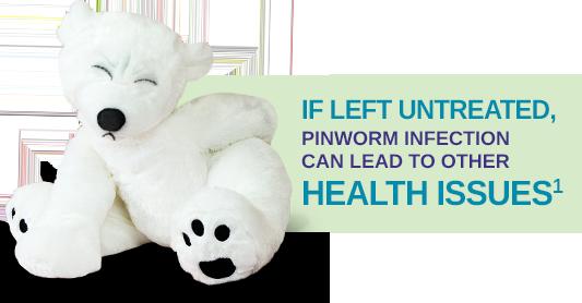 A pinworms gyógyítják őket)
