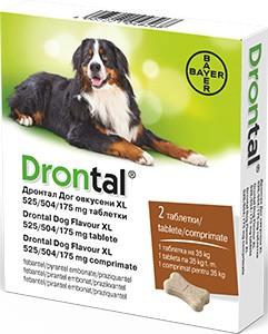 drontal plus giardia cane)