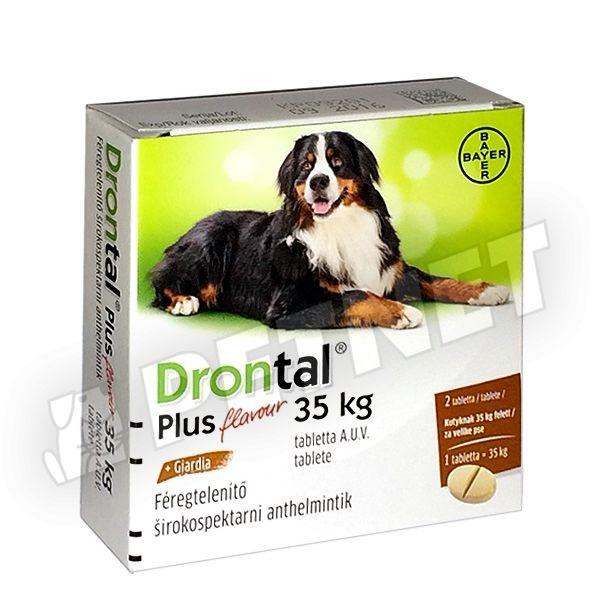Drontal Plus féregtelenítő tabletta (10kg) A.U.V. - Felelős Állattartás