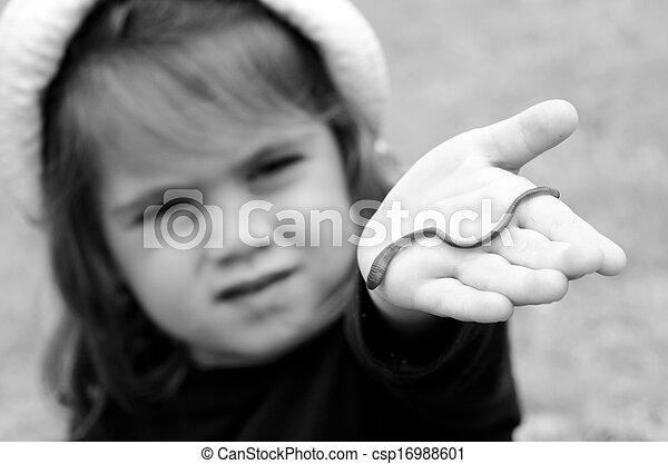 férgek egy gyermek képekben)
