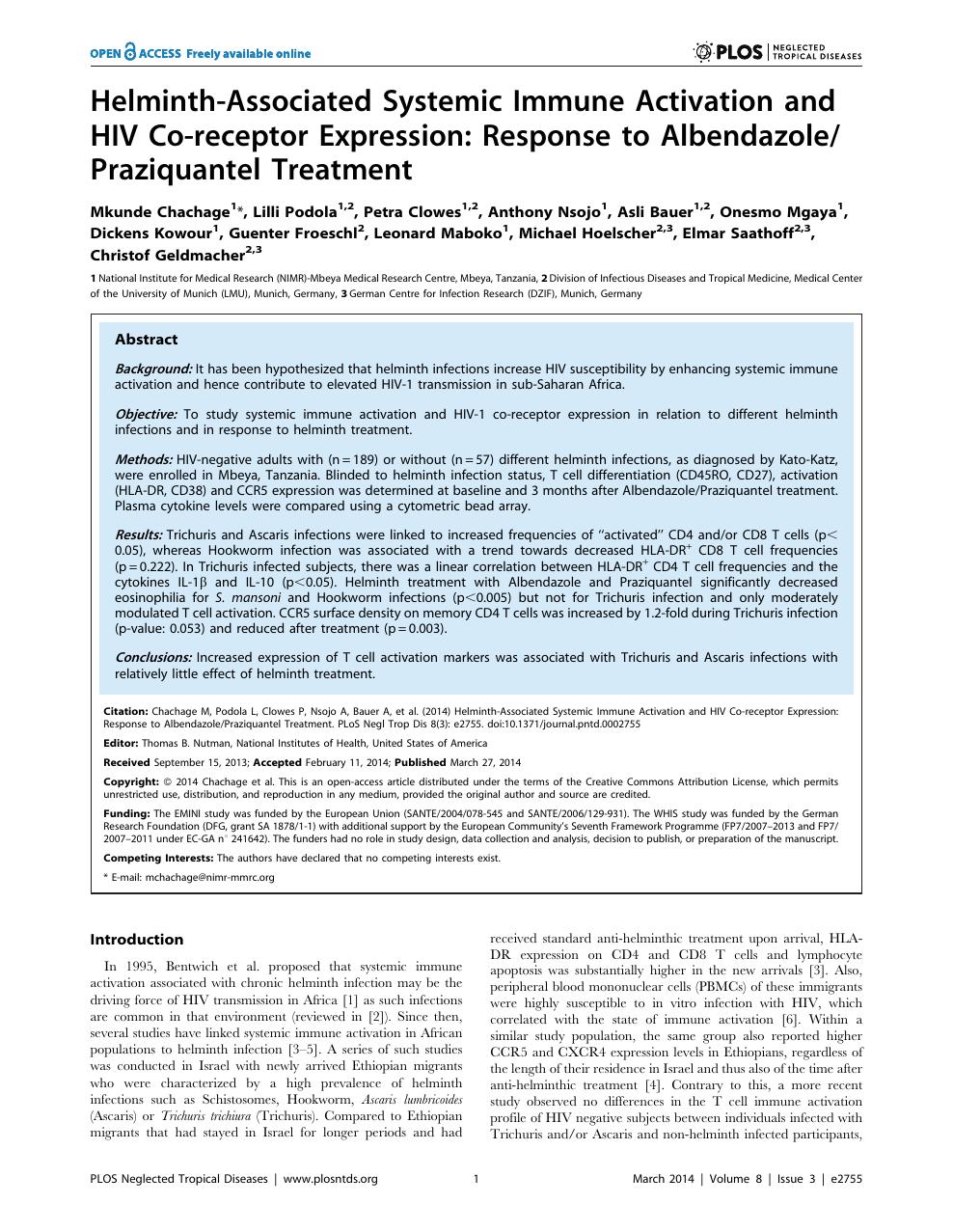 praziquantel helminthiasis kezelés