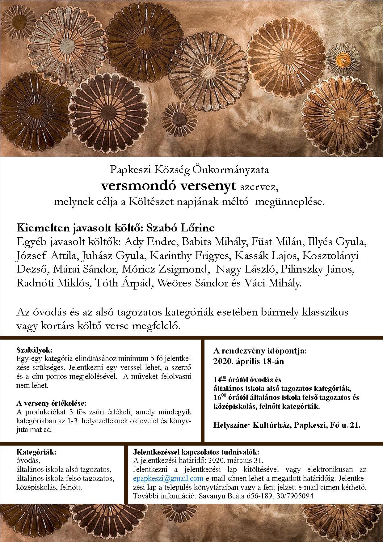 aszcariasis óvodai rendezvényeken)