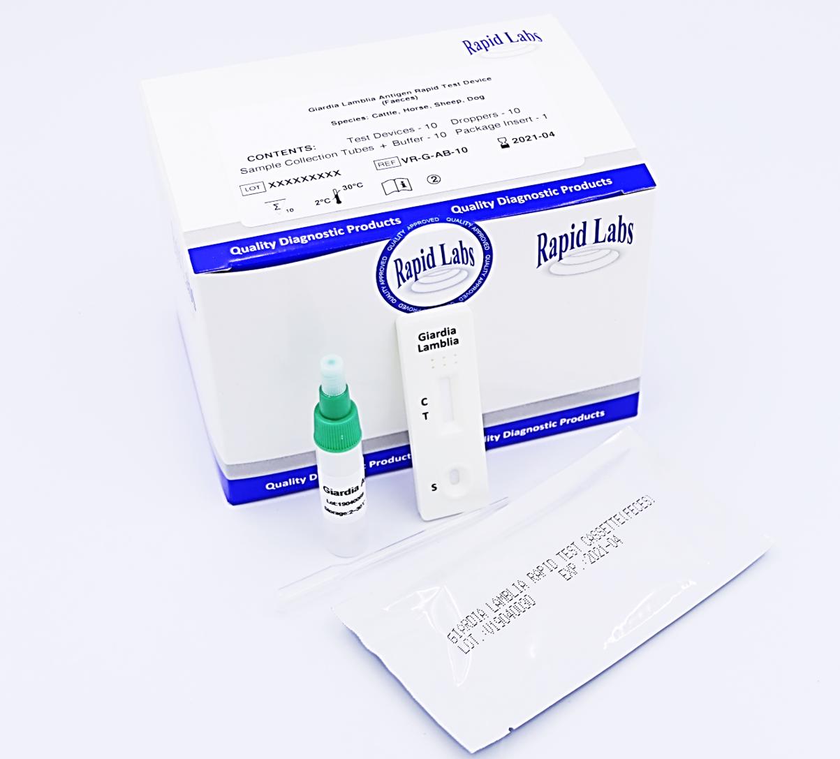 giardia rapid test)