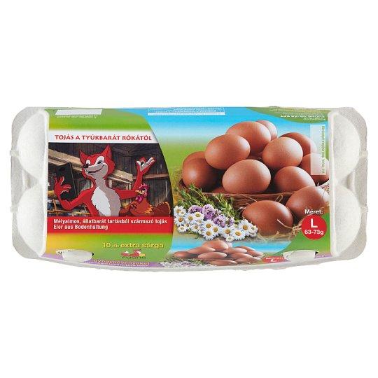 ostorférgek tojásmérete
